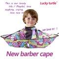 Buena calidad del bebé Niños Niños Útil Para Cortar el Cabello Del Cabo Salon Vestido Peluquería delantal de peluquería shampoo Capes