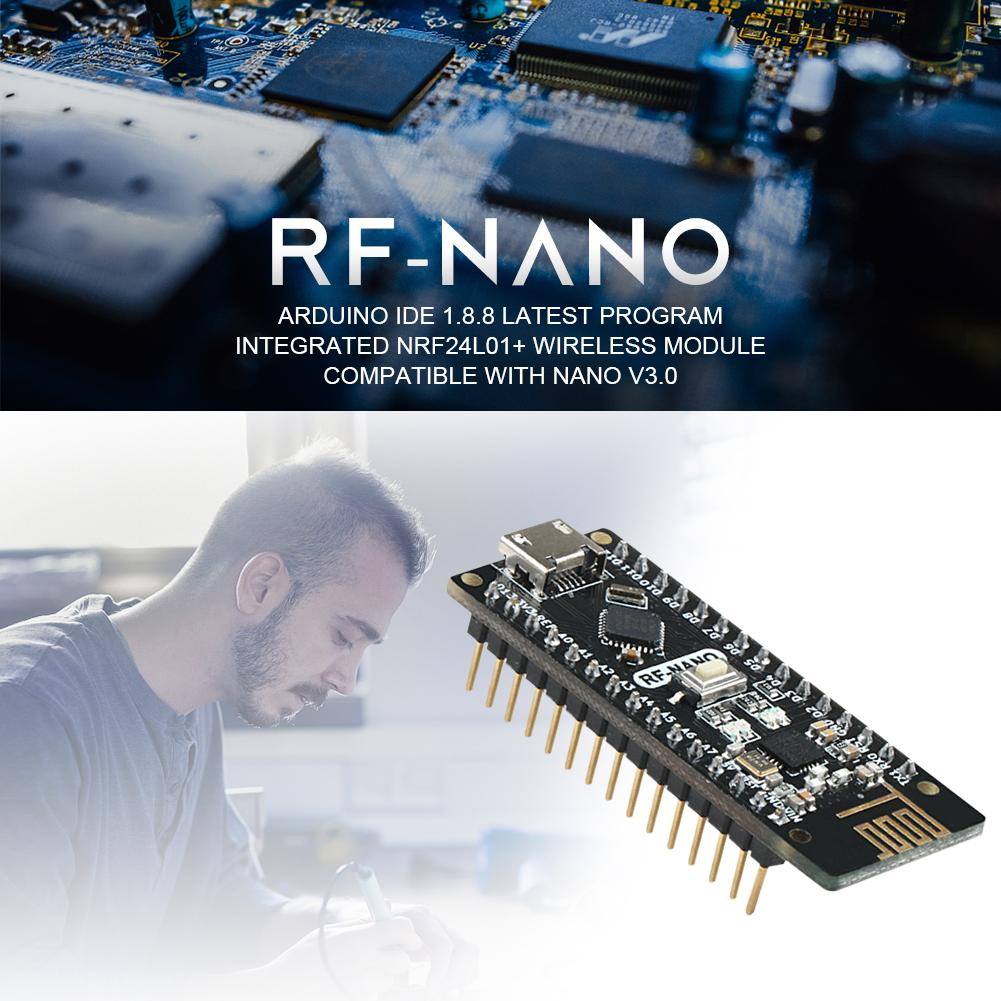 Rf-Nano Integrated-Board V3.0 With Usb-Interface Arwino Nano/V3.0/Nrf24l01/2.4g Wireless-Module