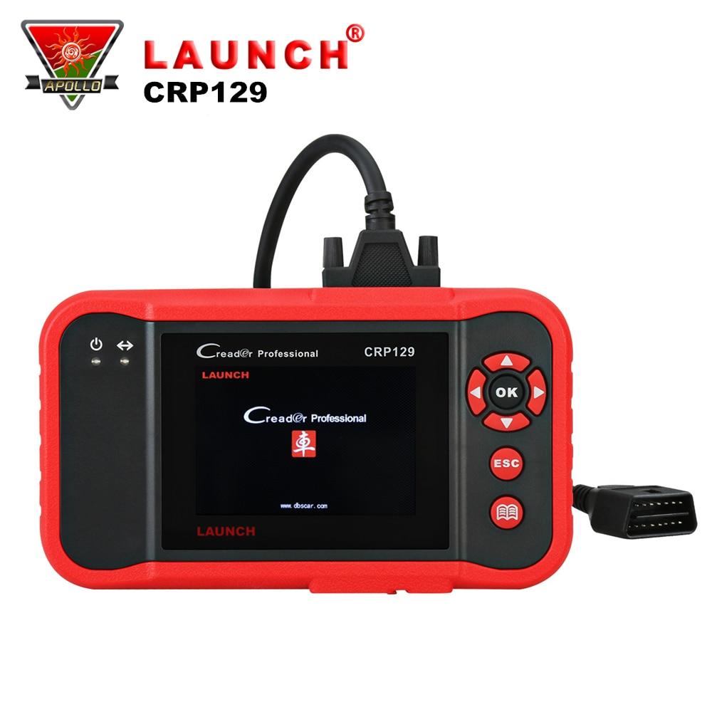 Starten Creader CRP129 OBD2 Auto Scanner Auto OBD Diagnose Werkzeug Motor ABS SRS Bremse Öl Reset-Code Reader gleiche wie creader VIII