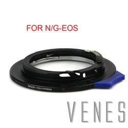 Venes For N/G-EOS 2nd Generation Upgrade Aperture AF Confirm Adapter Nikon F Mount G Lens to Canon (D)SLR Camera