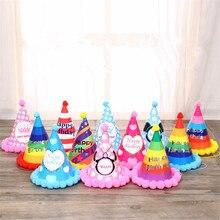 bola de pelo decoracin hecha a mano encantadora del beb fiesta de cumpleaos de adultos sombreros