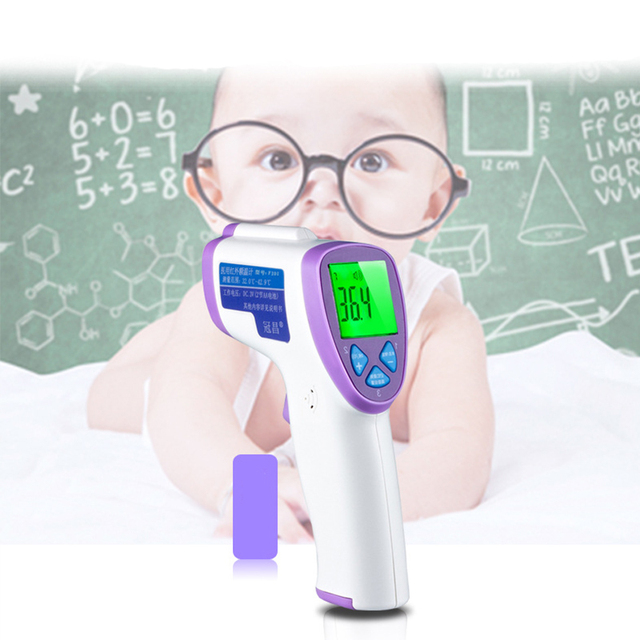 Multi-function Baby Child Digital Termomete Adult Body Forehead Infrared Thermometer Non-contact Temperature Measurement Device
