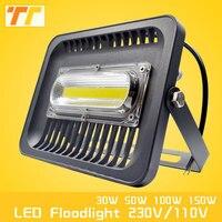 LED Flood Light 100W 50W 30W LED Floodlight IP65 Waterproof 220V 110V LED Spotlight Refletor LED