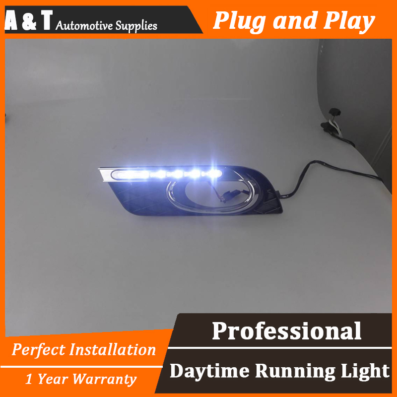 A T car styling For Honda Civic LED DRL For Civic led daytime running light High