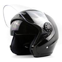 100 Original Marushin PJ EVO Motorcycle Helmet With Inner Sun Visor Open Face Helmet Double Lens