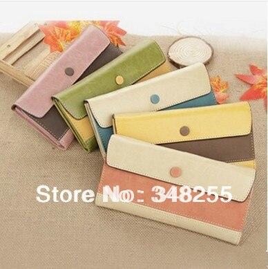 Fashion Vintage Card Holder Zipper Carteira New 2014 Leather Purse Brand Wallet Women Day Clutch Bag Cover Carteras - World store