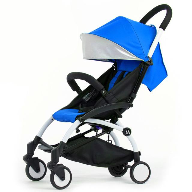 2016 Nova Moda Bebê Carrinho De Criança Carrinho De Bebê Super Leve À Prova de Choque Carro do bebê Portátil Dobrável Fácil Empurrar carrinhos para bebês 5.8 kg C01