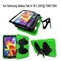Планшетные Чехлы Для Samsung Galaxy Tab 10.1 T580 T585 Случае броня Kickstand Футляр для Samsung Galaxy Tab 10.1 2016 крышка