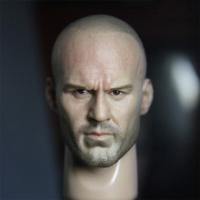 1/6 Jason Statham Head Sculpt for 12'' Bodies Figures(China)