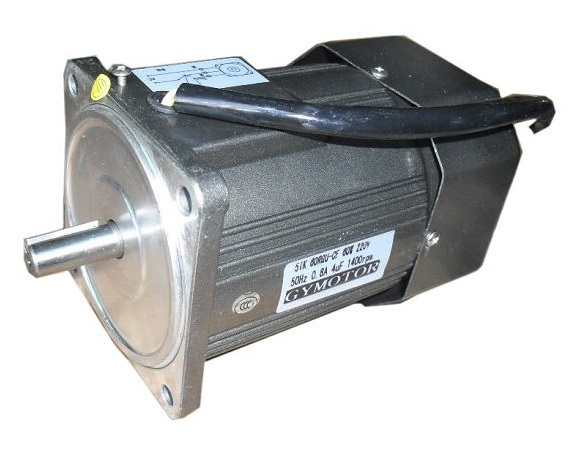 AC 380V 120W three phase motor without gearbox. AC high speed motor,