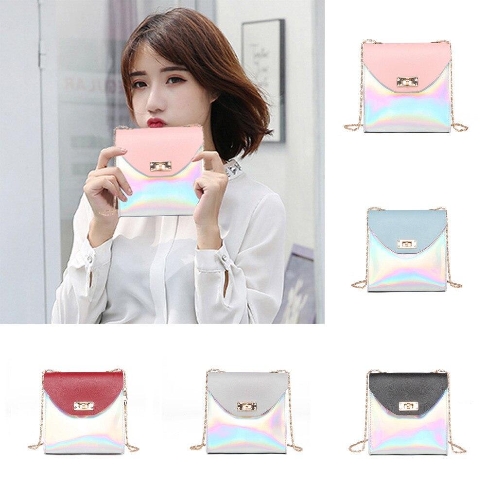 Women Messenger Bags Fashion Women Chain Strap Shoulder Bags phone package Small Bag For Women Carteras Y Bolsos De Mujer