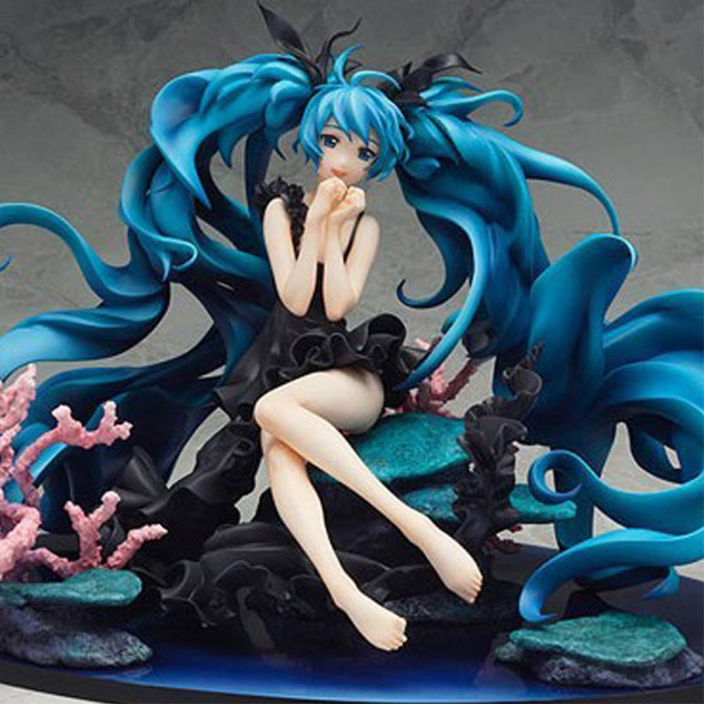 30CM Anime Black Rock Hatsune Miku Sexy Girl Toys Action Figure Collectible Model Toy Child Birthday Gift Action Figure oyuncak novelty 14cm can be opened leather sexy anime figure sex toy pvc action figure collectible figuras anime model toys funny toys