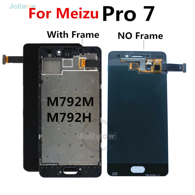 For Meizu Pro 7 LCD Display with Touch Screen Digitizer Replacement For Meizu Pro 7 Pro7 LCD With Frame M792M M792H