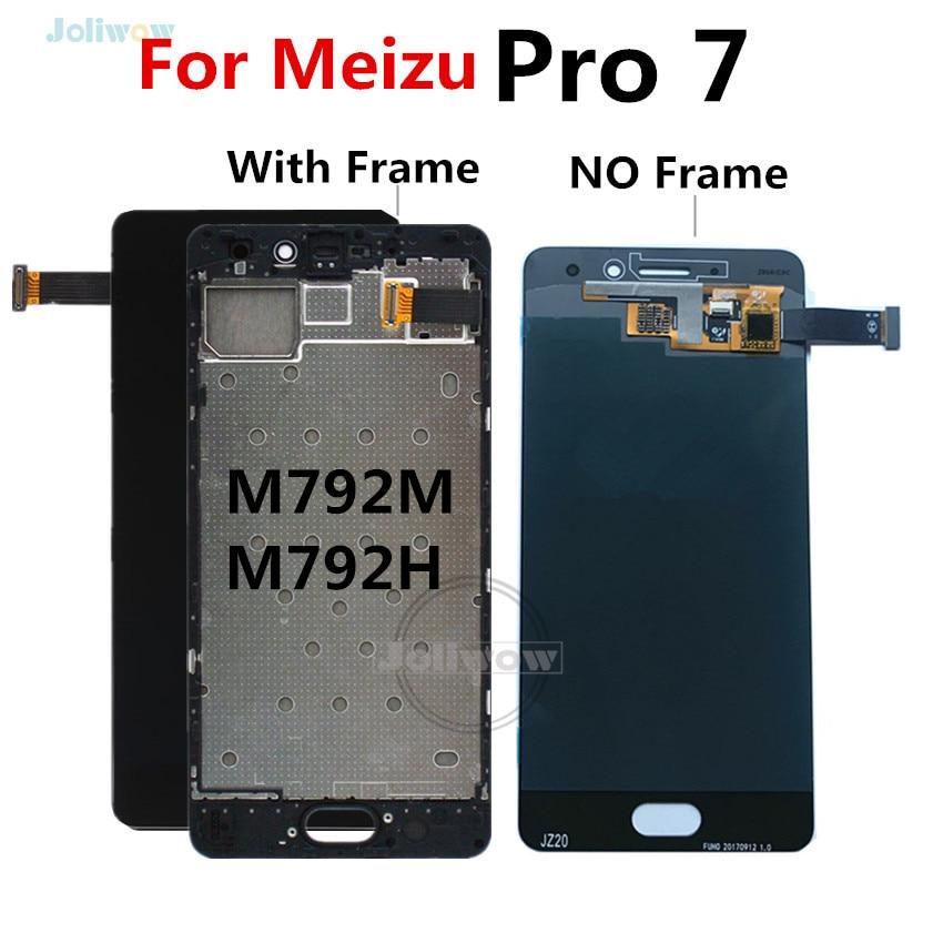 Pour Meizu Pro 7 écran LCD avec remplacement de numériseur d'écran tactile pour Meizu Pro 7 Pro7 LCD avec cadre M792M M792H