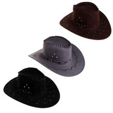 0441200b New Arrival Fashion Cowboy Hat For Men Western Party Costumes Travel Casual Cowboy  Hats(China