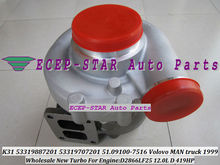 Free Ship K31 7021 53319887201 53319707201 5331-988-7201 5331-970-7201 Turbo For MAN For Volovo Truck E2866LF25 1999 12.0L 419HP