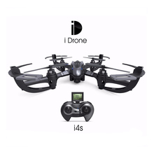 2016 Newest Mini Drones Yizhan I4s With HD Camera 2.4G 4CH 6 axis Headless Hovering Rc Helicopter Camera Nano Drone Vs Yizhan X4
