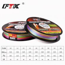 2017 New FTK 8 braided besign 150M PE Fishing Line Multi Color Advanced wide Fishing line For Saltwater 1#-6# 23-85LB Fishing