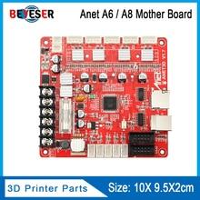 Anet V1.7 carte de contrôle pour imprimante 3D, pour Anet A8, A6 et A3 et A2, Reprap i3, tableau Mather, 4 couleurs, 1 pièce