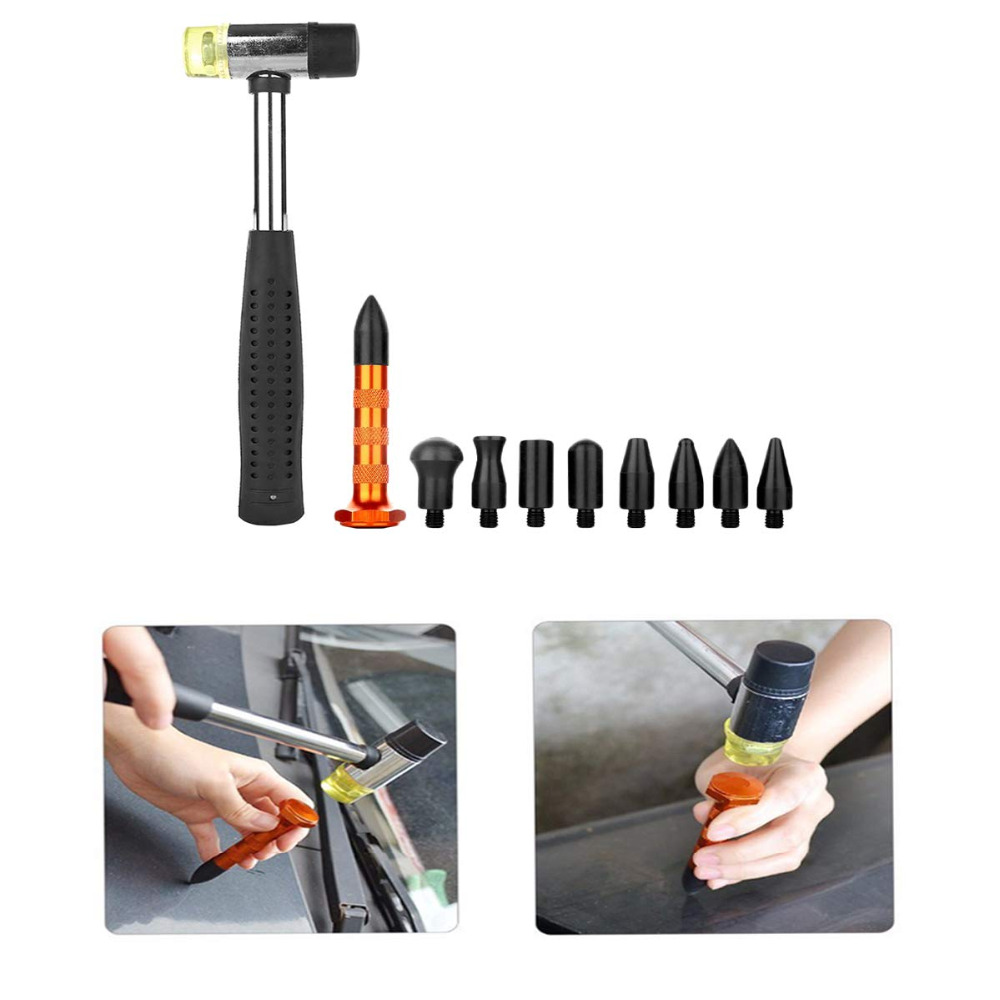 Tools Kit DIY Remove Dent Paintless tabs Repair Tool Car Dent Remover Reverse Hammer Straightening Pulling Dents Instruments