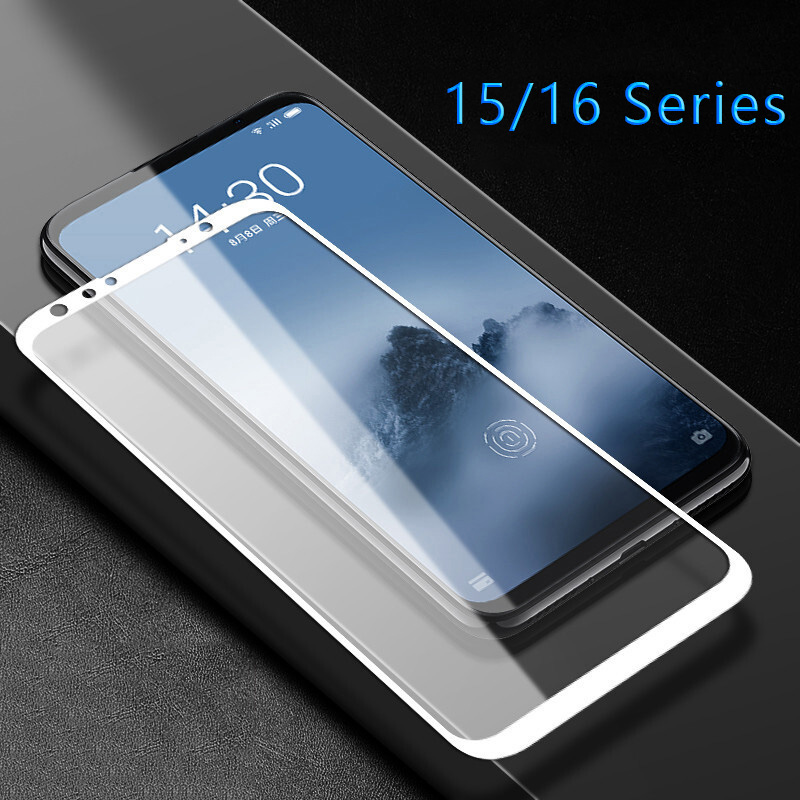 Case On Maisie 15 Lite <font><b>16</b></font> X 16th Plus 16x M15 Full Cover For <font><b>Meizu</b></font> M 15 15lite 15plus 16plus Tempered Glass Safety Tremp Phone image
