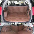 Good! Special trunk mats for Hyundai Grand Santa fe 7seats 2017-2013 durable boot carpets for Grand Santafe 6seats,Free shipping