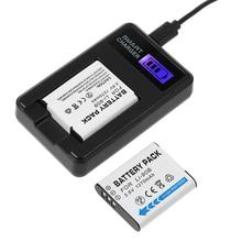2x LI-90B LI 90B LI90B LI-92B Camera Battery + LCD USB Charger for Olympus TG-1 iHS TG-2 TG-3 TG-4 TG5 SH50 iHS SH60  XZII SP100
