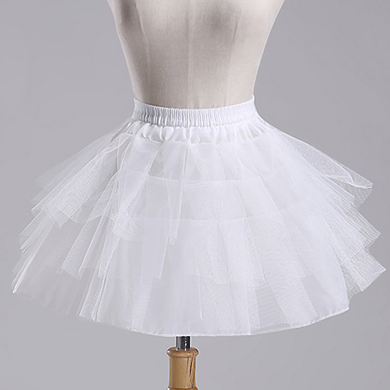 Buy free shipping white tulle girls for Tulle petticoat for wedding dress