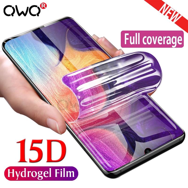 15D Гидрогелевая пленка для Samsung Galaxy A50 A20 A30 A70 A10 Защитная пленка для Samsung A5 2017 A6 A7 A8 2018 M10 M20 M20 не стекло|Защитные стёкла и плёнки|   | АлиЭкспресс