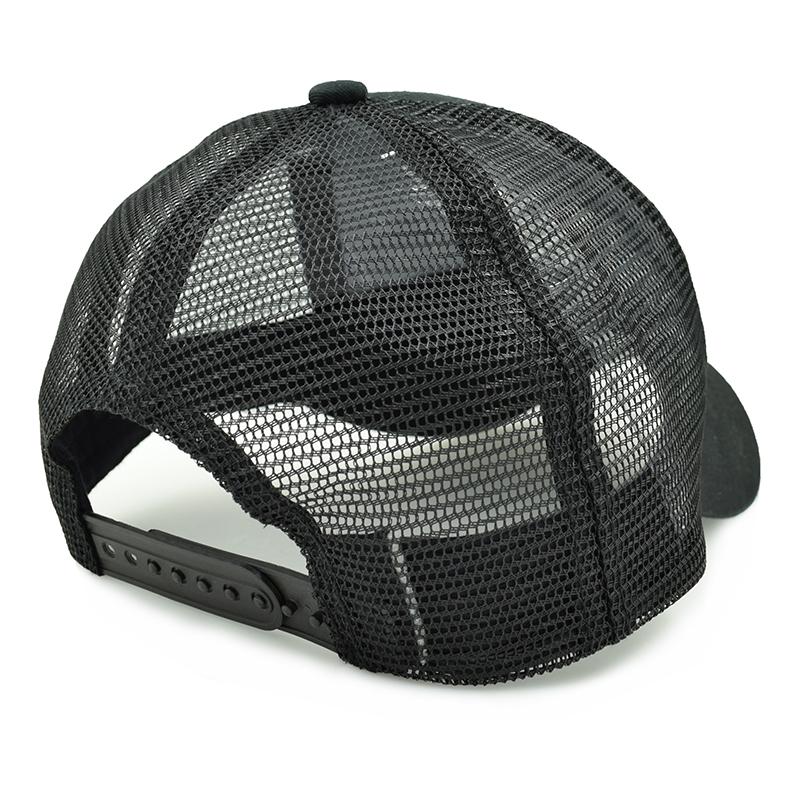 black trucker hat 1-3