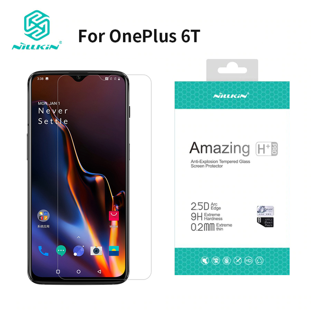 For oneplus 6t Screen Protector 6.41 inch NILLKIN Amazing H/H+PRO 9H ...