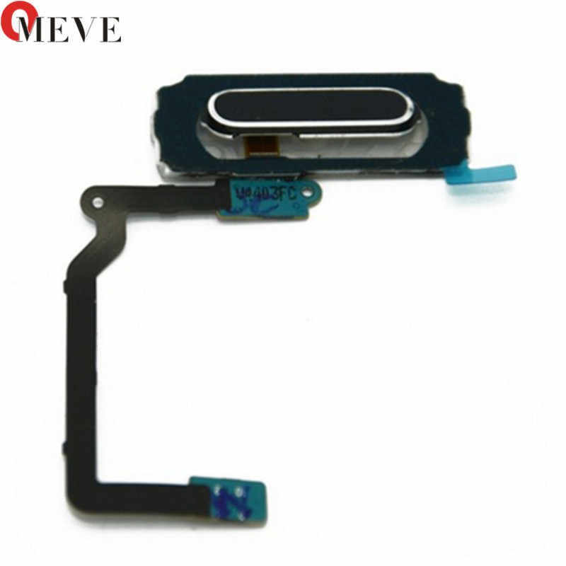 1 pz/lotto Pulsante Home Flex Cable Cap Key + Assembly Per Samsung Galaxy I9600 S5 G900i G900H G900F G900A G900T