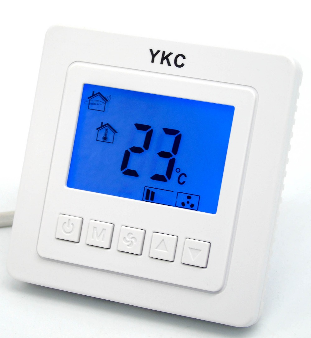 Best Price Room Fan Coil Thermostat Digital 220vt5000