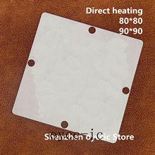 Direct heating  80*80  90*90  LGE2121  LGE2121 MS  BGA  Stencil Template