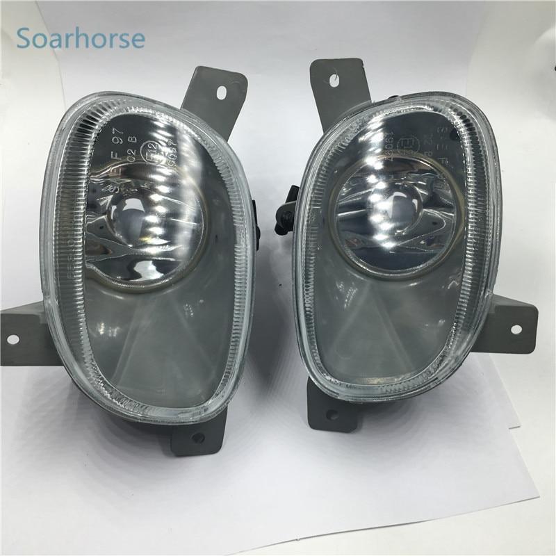 Soarhorse Car Front Bumper Fog Lamp Fog Light For Volvo S80 1999 2000 2001 2002 2003 2004 2005 2006