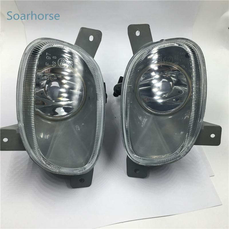 Soarhorse Car front bumper fog lamp fog light For Volvo S80 1999 2000 2001 2002 2003 2004 2005 2006 jeazea glove box light storage compartment lamp 1j0947301 1j0 947 301 for vw jetta golf bora octavia 2000 2001 2002 2003 2004