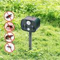 Ультразвуковой отпугиватель животных  25-61 кГц  для контроля грызунов  для сада  для насекомых  для улицы