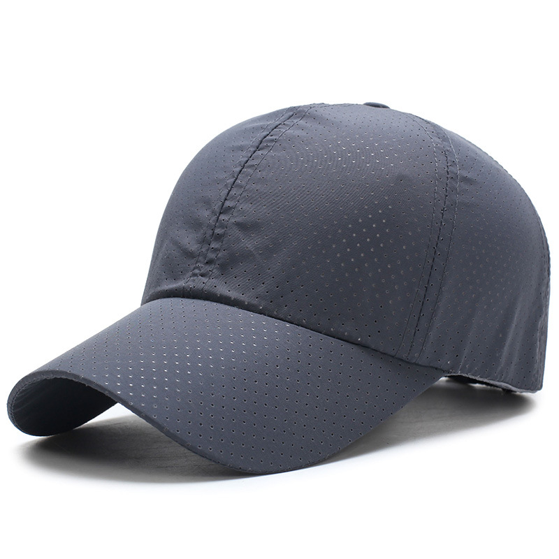 New Ultra-slim Summer Cap Quick-drying Fabric Summer Unisex Women Man Quick Dry Mesh Cap Running Hat Bone Breathable Hats