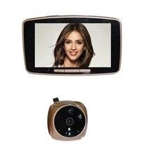 2017 door camera video eye wireless 5.0inch Touchable LCD 2.0megapixels camera IR night vision Motion Sensor SIM call MMS Alarm