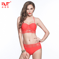 Bikini Sexy Brazilian Bandage Push Up High Waist Hollow Out String Swimwear Designer Open Girl Swimsuit