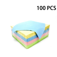 100 PCS/LOT 13CMX13CM Jewelry Cleaning Cloth Polishing for Sterling Silver Gold Anti Tarnish DIY Tools Accessories