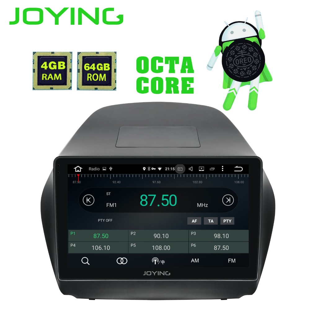JOYING Octa Core Android 8 1 4 64GB GPS Stereo DVD Radio HD Player for Hyundai