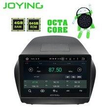 Disfrutando Octa Core Android 8,1 4 + 64 GB GPS estéreo DVD Radio reproductor de HD para Hyundai TUCSON IX35 2009 -2015 con Carplay WiFi Bluetooth