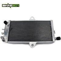 BIKINGBOY двигатель для квадроцикла радиатора охлаждения для Suzuki LT250R LT 250 р 85 86 87 88 89 90 91 92 LTR250 охладитель воды 34 мм Core полированная