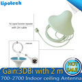 Indoor Ceiling Antenna 700-2700mzh N Female Omni for Wifi 3G GSM CDMA DCS Smart Phone Signal Booster Repeater Amplifier