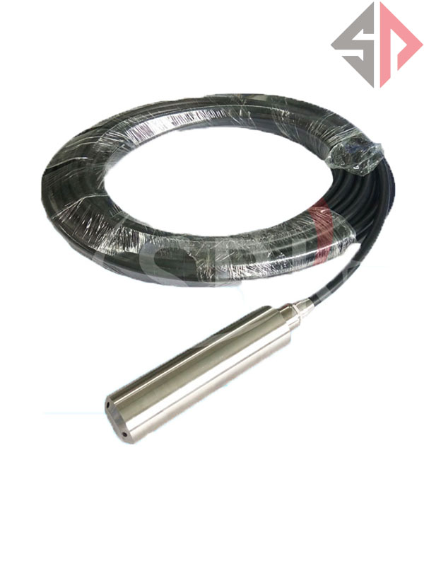4~20mA 6 meters Cable Submersible Liquid Level Transmitter Level Transducer Level Sensor 4 20ma level transmitter level controller input type level sensor for high temperature corrosive liquid sewage 8m