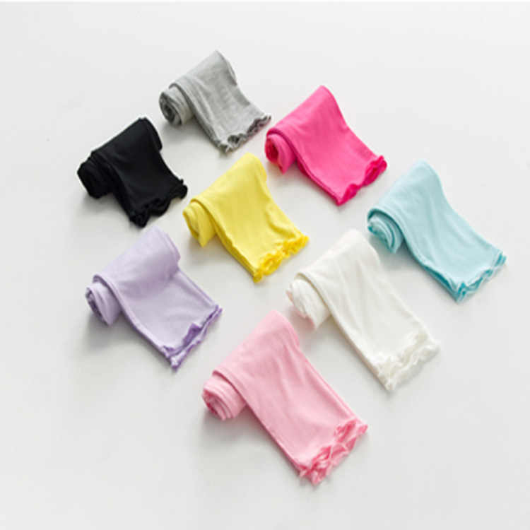 ฤดูร้อนหญิงผอมSkinnyกางเกงสำหรับสาวฝ้ายกางเกงเด็กทารกยืดหยุ่นLegginsเสื้อผ้า