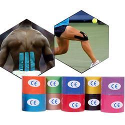 5 см * 5 медицинский эластичный перфорированный мышечный патч спортивный бандаж кинематографическая лента для физиотерапии Удобная