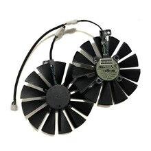 95 мм T129215SM охлаждающий вентилятор GPU для ASUS ROG Посейдон GTX1080TI STRIX RX 570 470 580 GTX 1050Ti Замена видеокарты