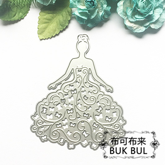 butterfly dress lady metal cutting dies troqueles fustella scrapbooking dies metal,embossing folder metal die cut stencils cutting die flower metal steel stencils scrapbooking cutting dies scrapbooking dies embossing folder big shot troqueles big shot